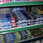 Auswahl Zahnpasta gegen Pickel