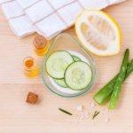 Gurkenmaske hilft gegen Pickel